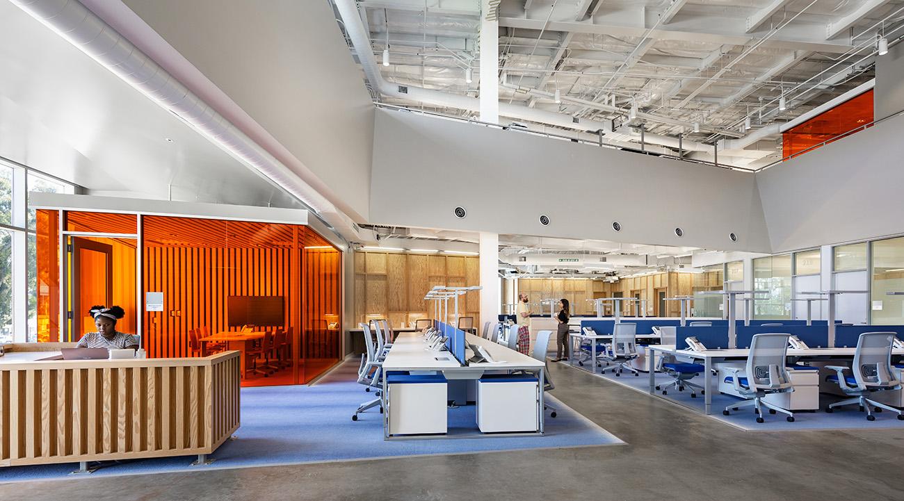 A Look Inside KCRW's New Santa Monica Office