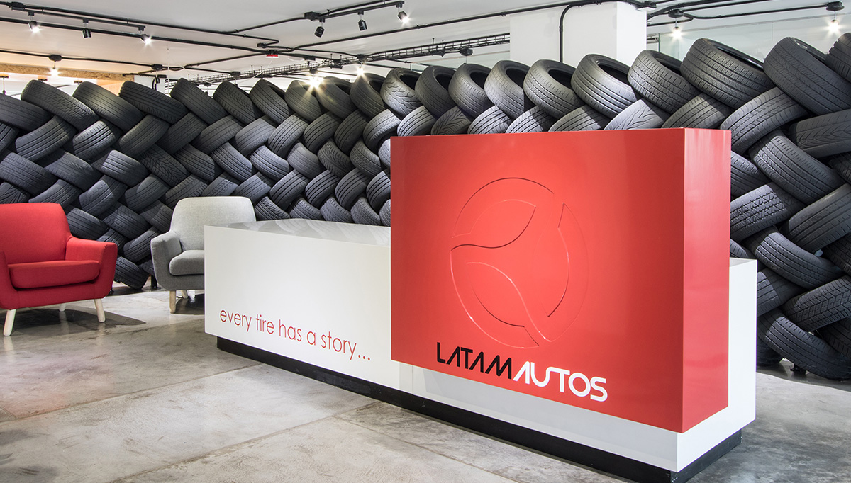 A Tour of LatAm Autos' Industrial Style Office in Mexico City