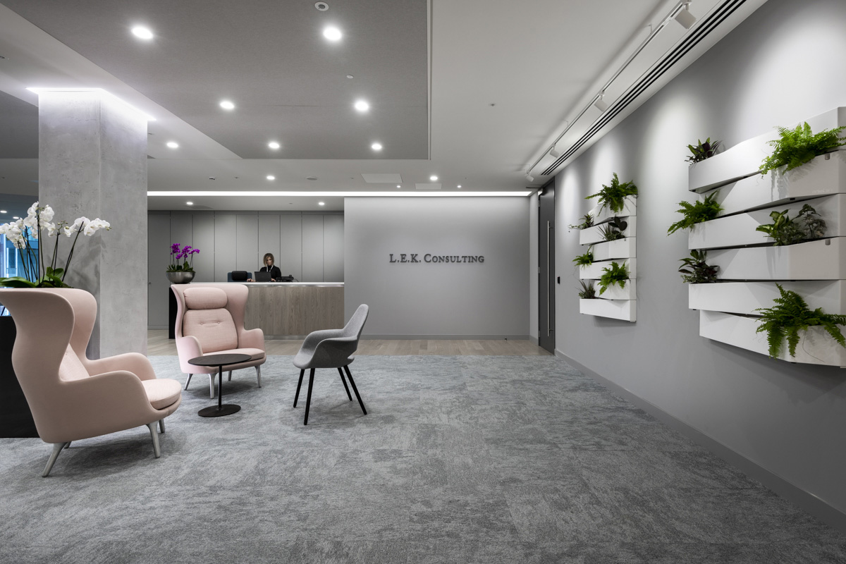 A Look Inside L.E.K. Consulting's Modern London Office