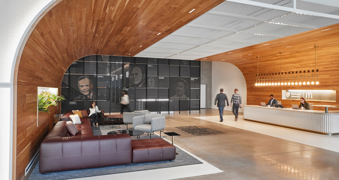 A Tour of McDonald's Sleek New Headquarters in Chicago