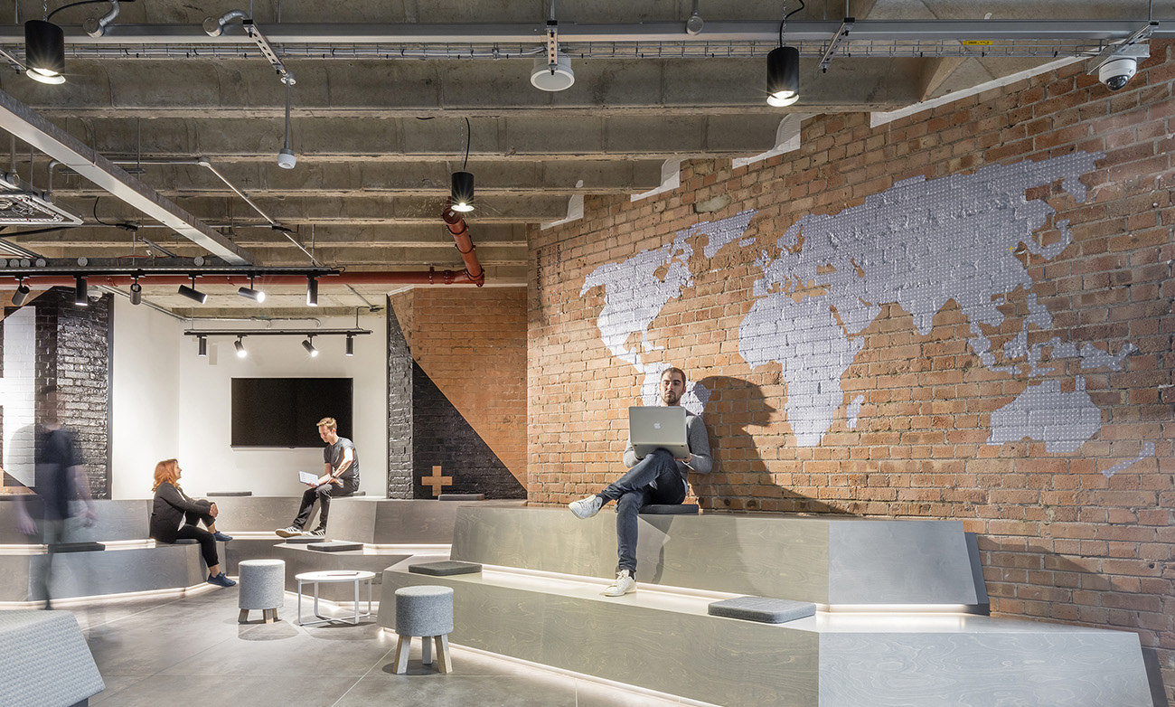 A Tour of RocketSpace's London Coworking Space