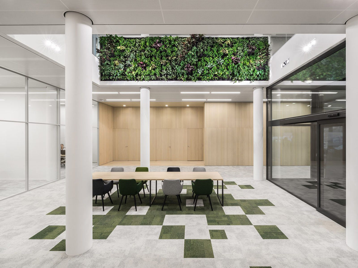 A Tour of Schouw Informatisering's Biophilic Office in Breda