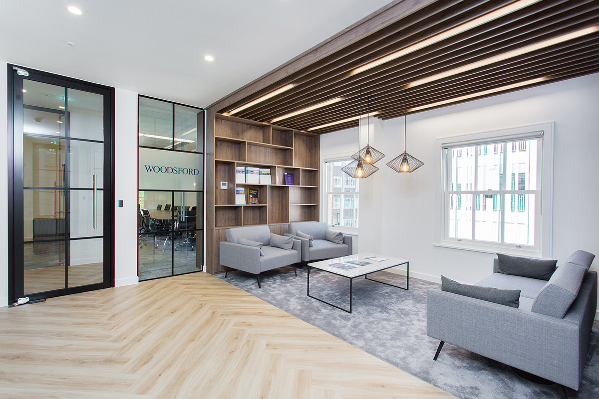 A Look Inside Woodsford's New London Office