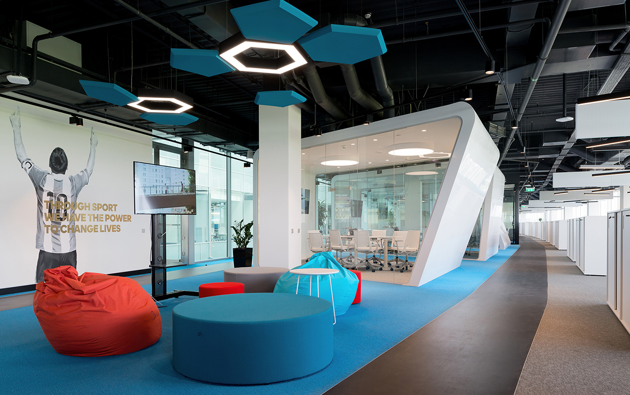 A Tour of Adidas' Modern Moscow Office