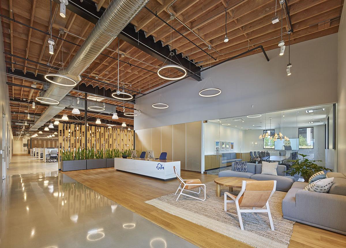 A Tour of eSalon's Modern El Segundo Office