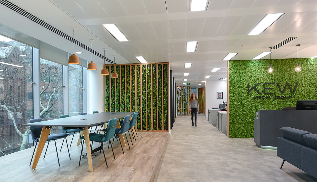 Inside Kew Media Group's New London Office