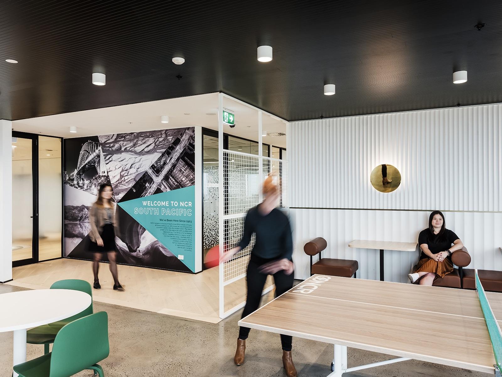 A Tour Of Ncr S Sleek New Sydney Office Officelovin
