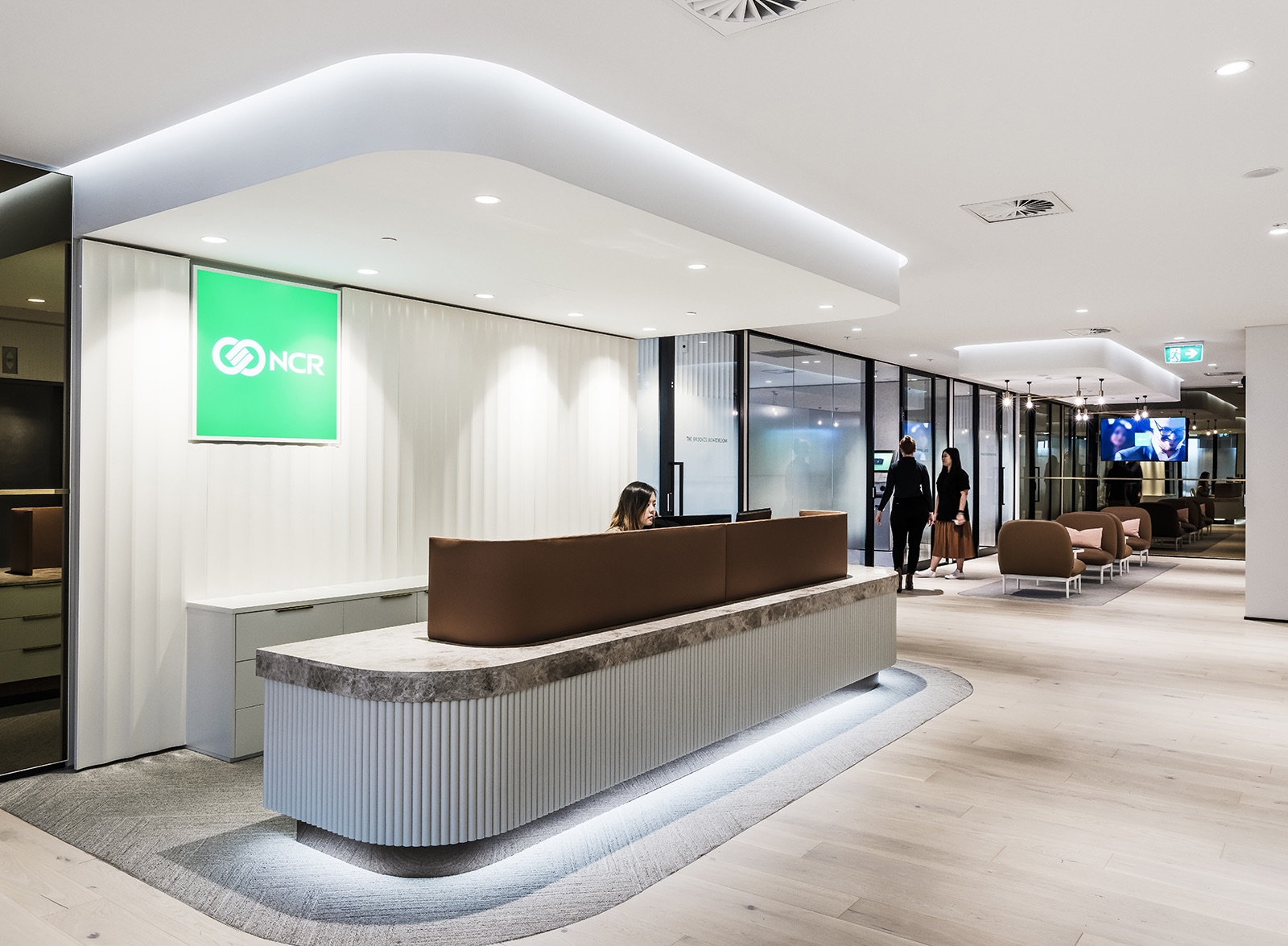 A Tour of NCR's Sleek New Sydney Office