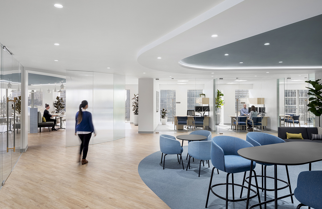 A Look Inside Prudential's New Los Angeles Office