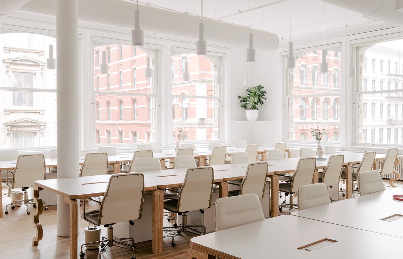 A Look Inside Billie's Minimalist NYC Headquarters