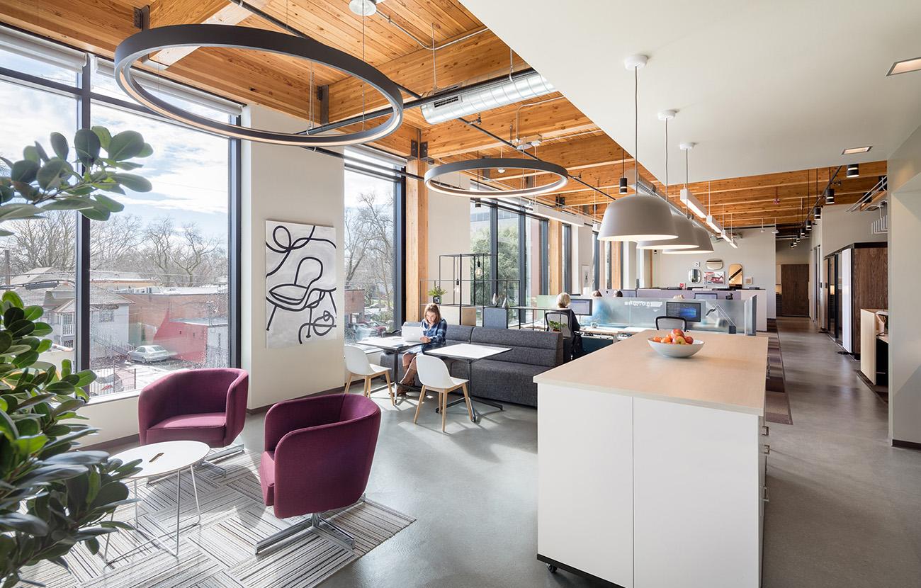Inside KBM Hogueu0027s Cool New Sacramento Office