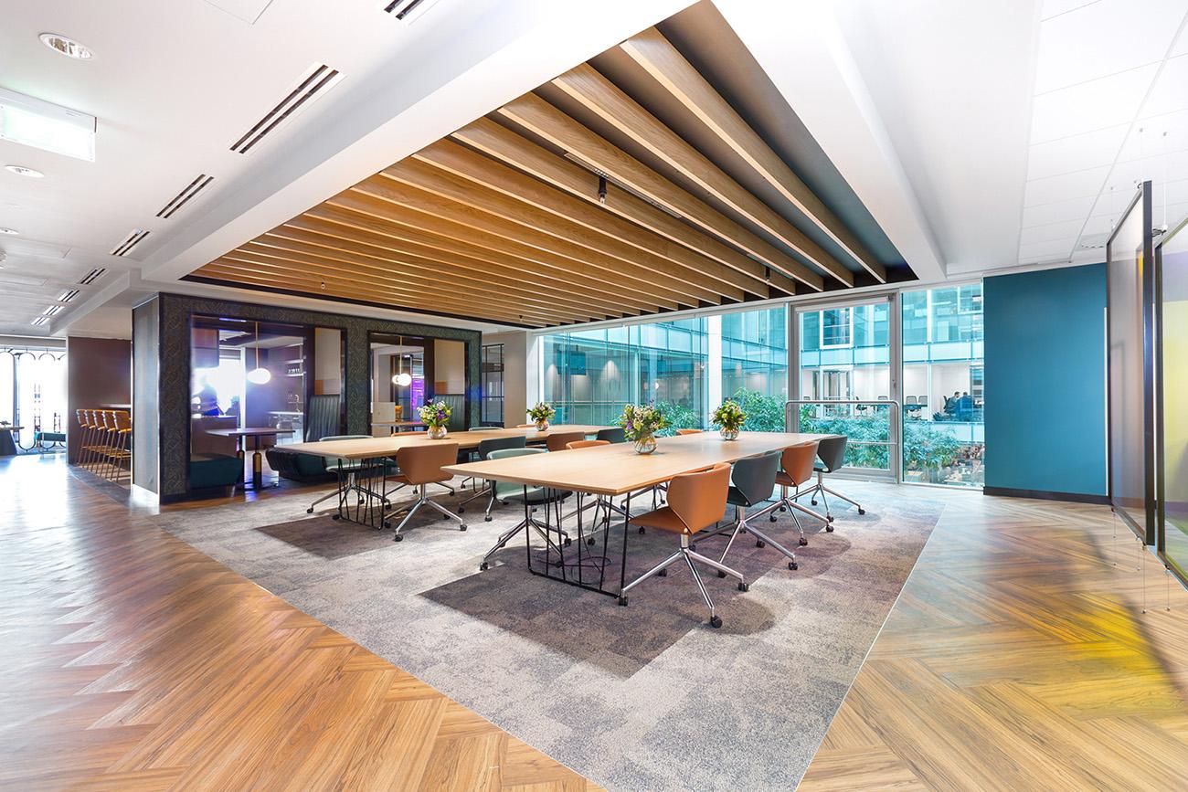 A Tour of Landmark Space's Modern London Office