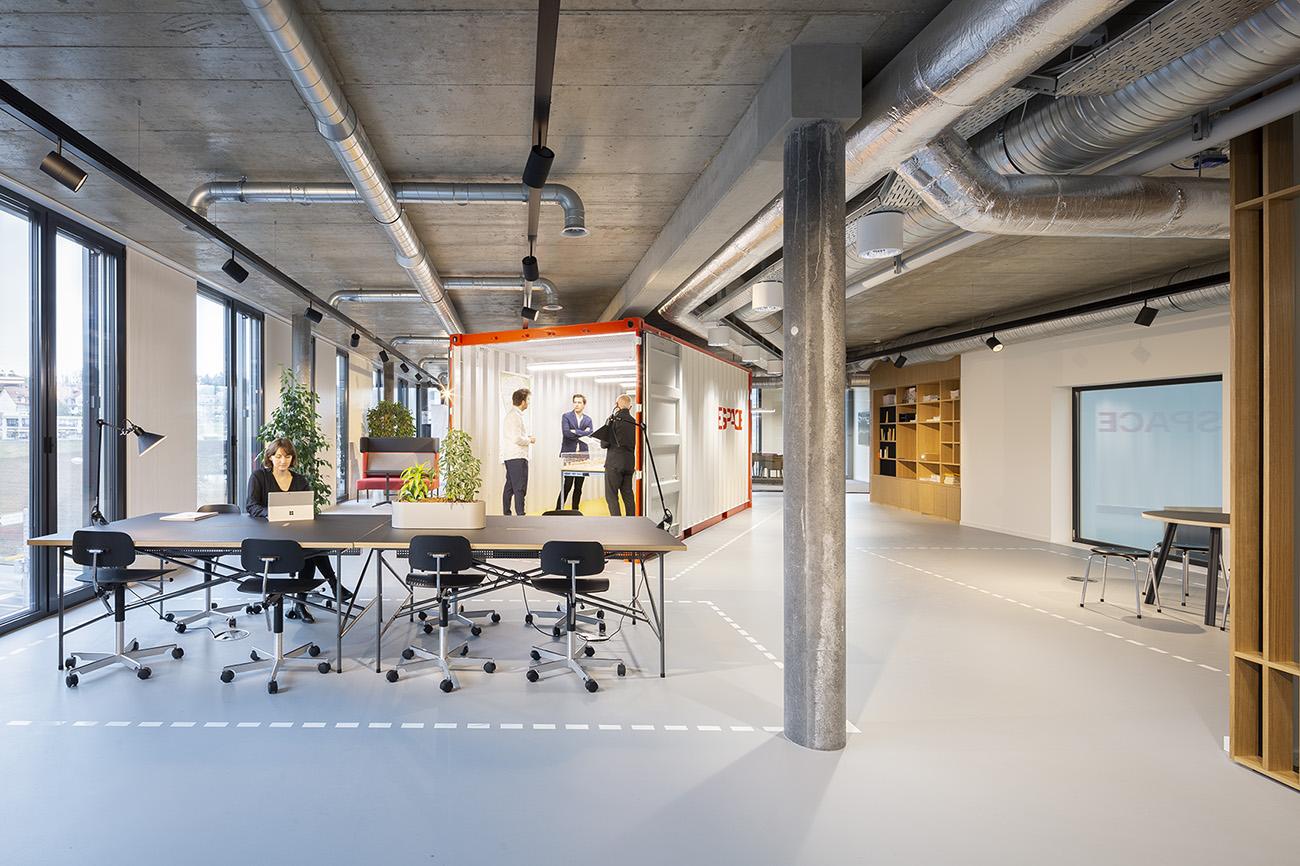 A Look Inside Losinger Marazzi's New Lausanne Office