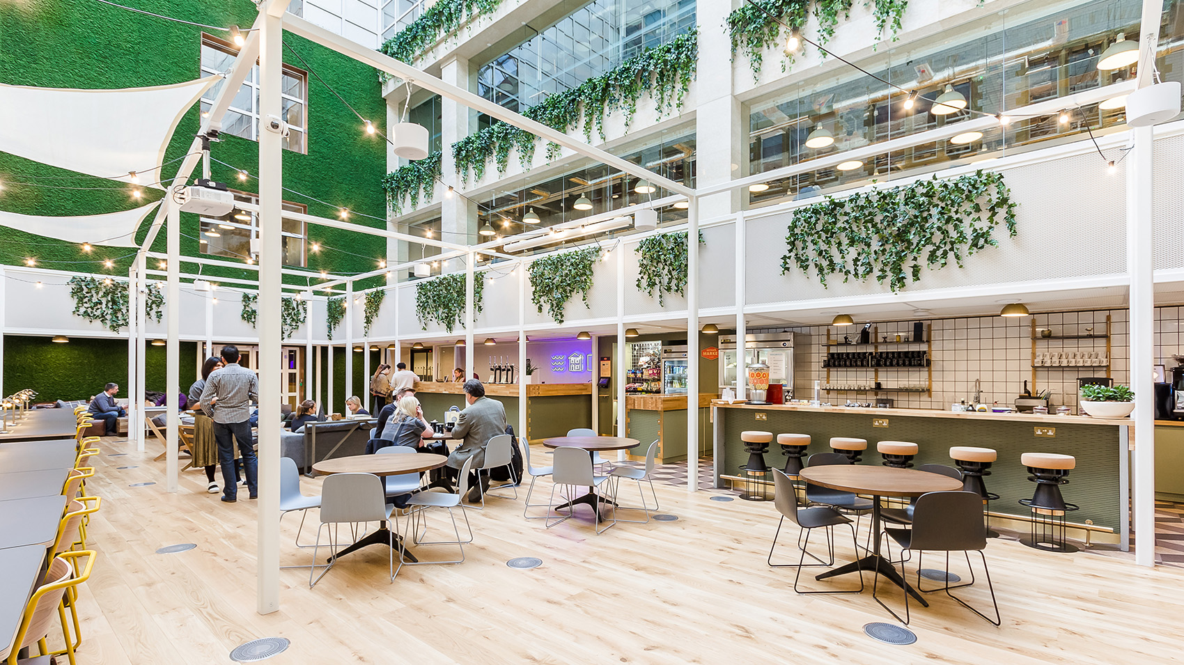A Tour of WeWork's London Coworking Space – Waterhouse Square