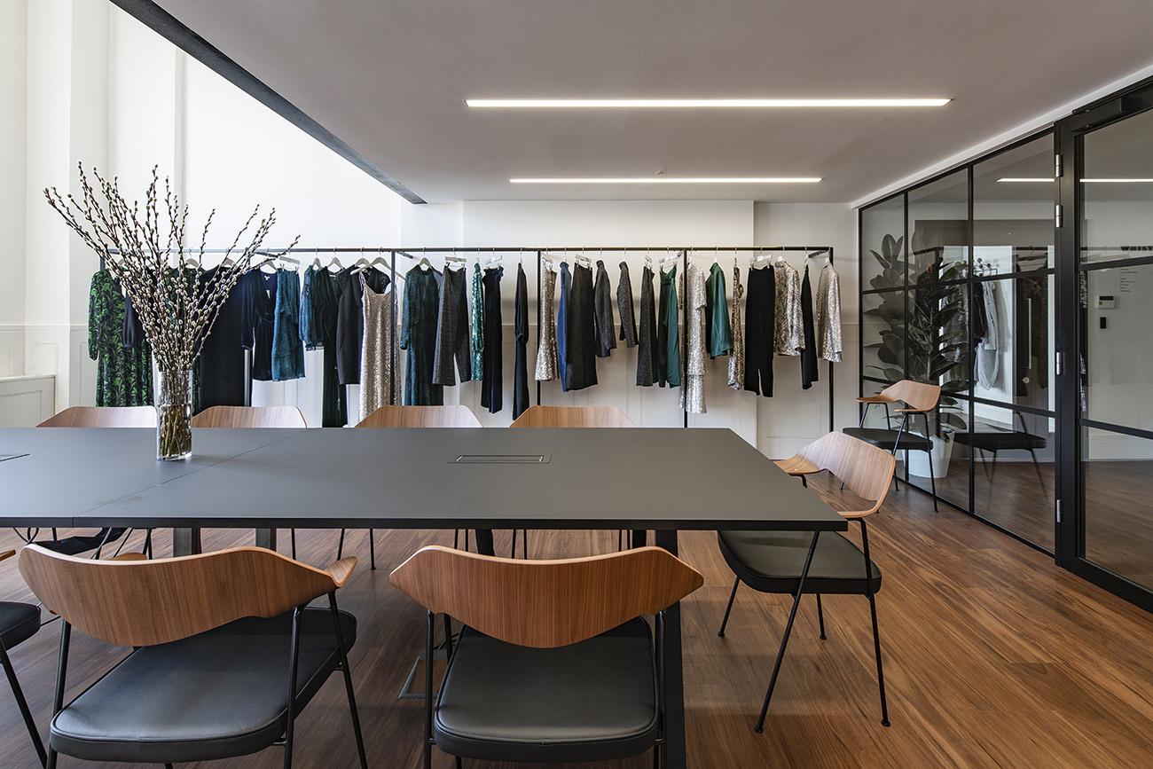 A Look Inside Whistles' Minimalist London Office