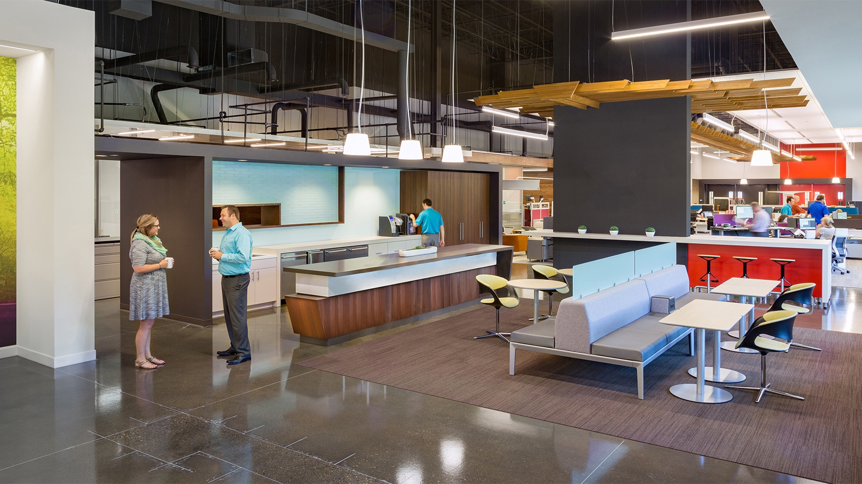 A Look Inside Business Furniture S Modern Indianapolis