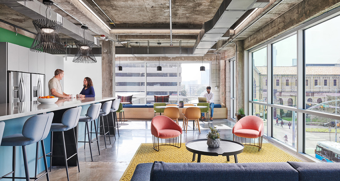 Inside CTA | Cushing Terrell's Stylish Office in Austin