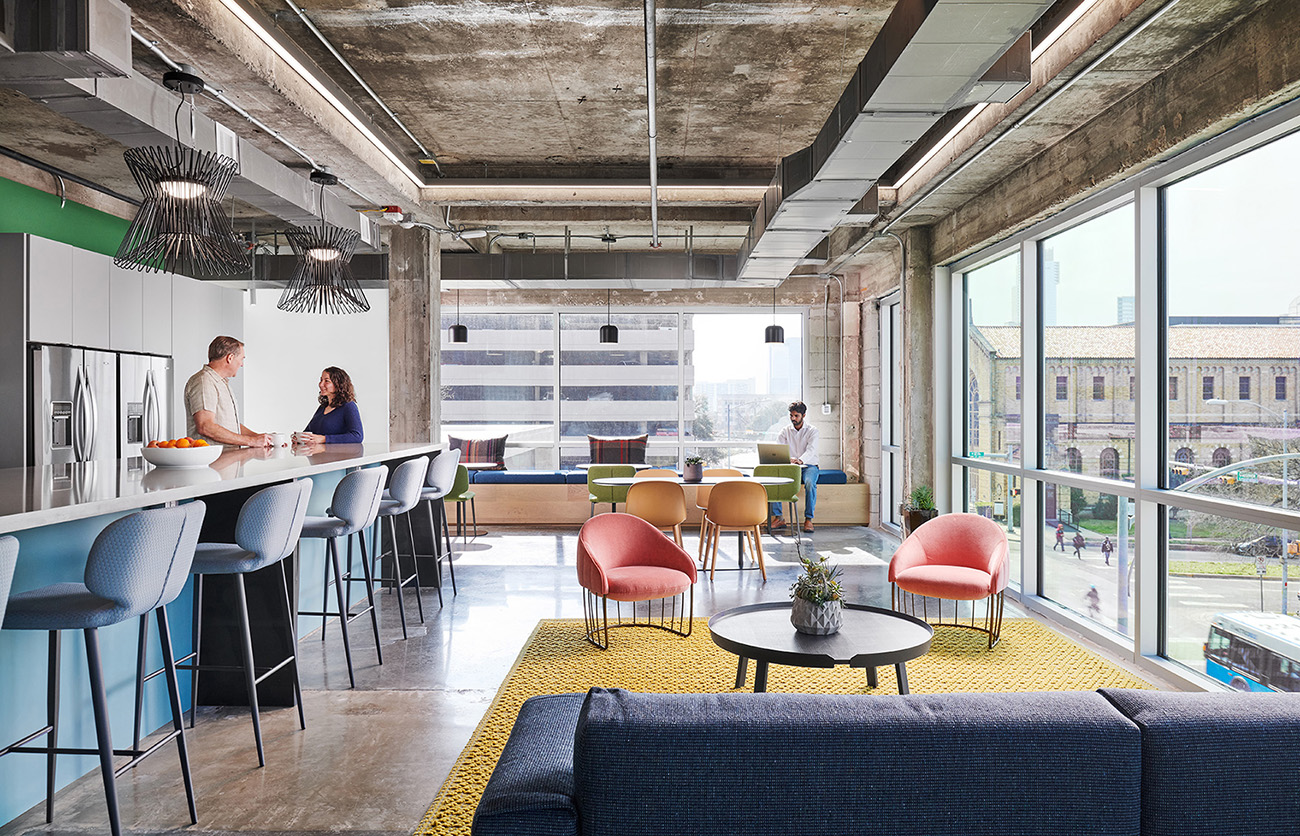 Inside CTA | Cushing Terrell's Stylish Office in Austin