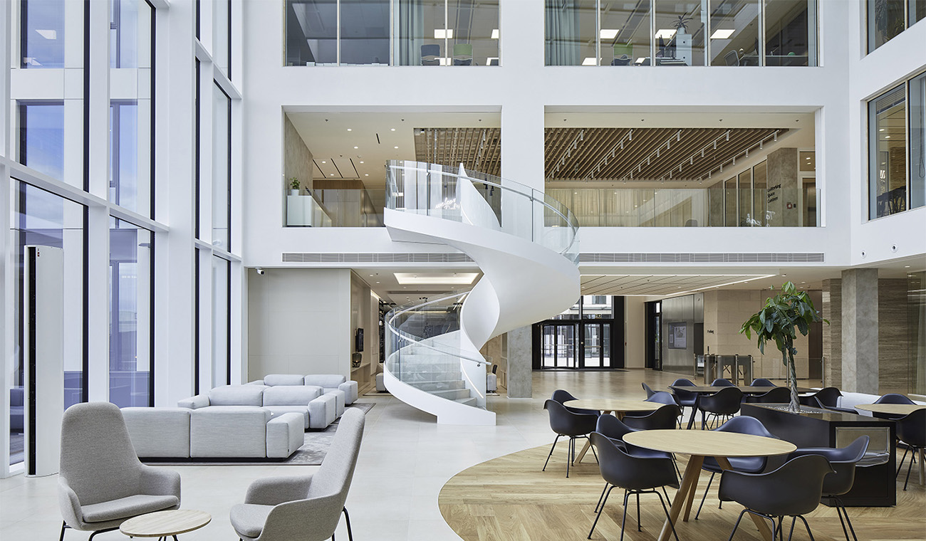 A Tour of Deloitte's Sleek New Prague Office