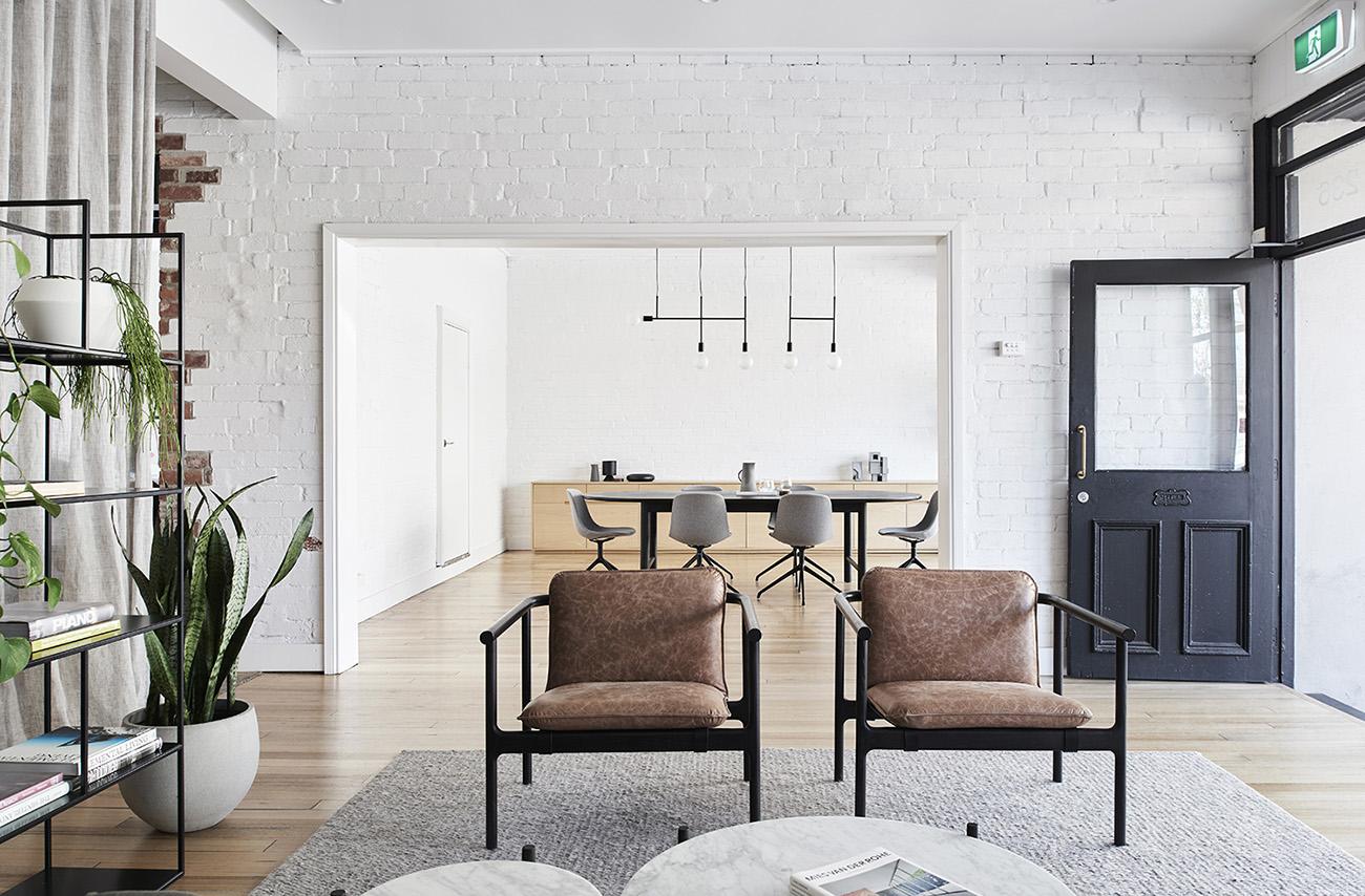 Inside Dan Webster Architecture & Nathan Burkett Design's Melbourne Office