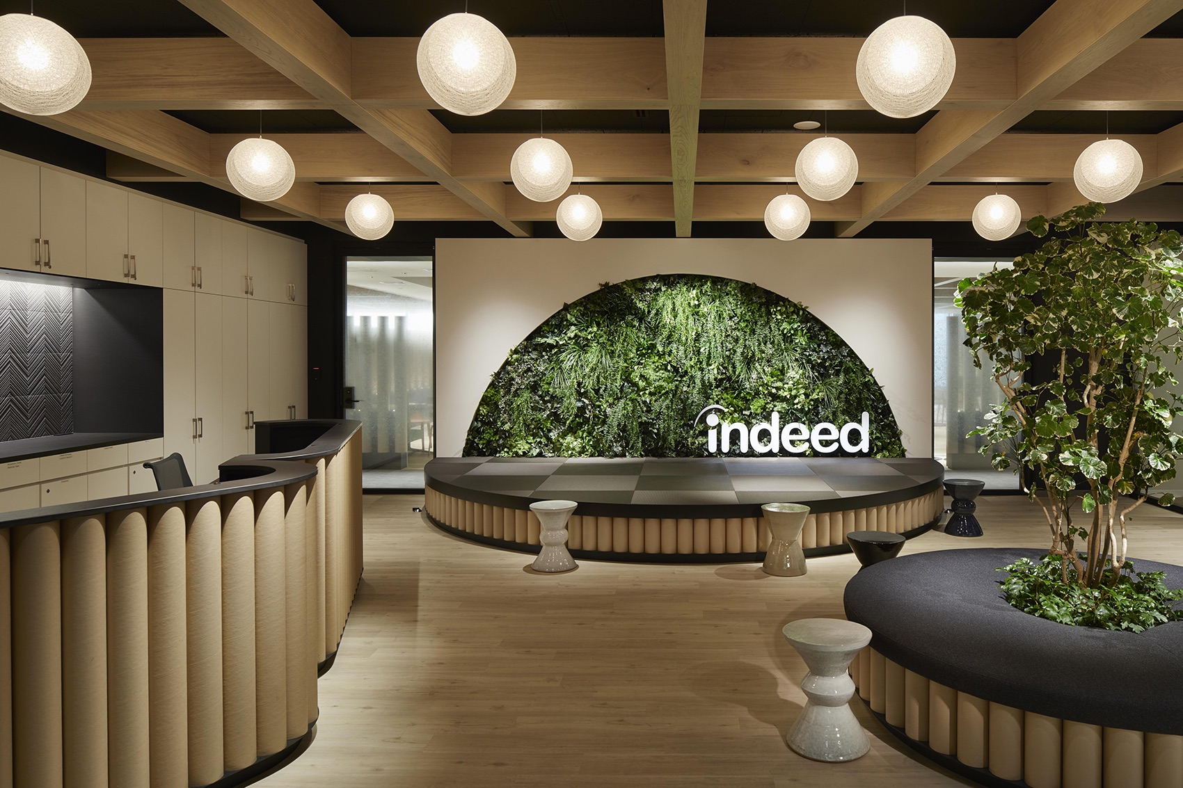 A Tour of Indeed's Biophilic Tokyo Office