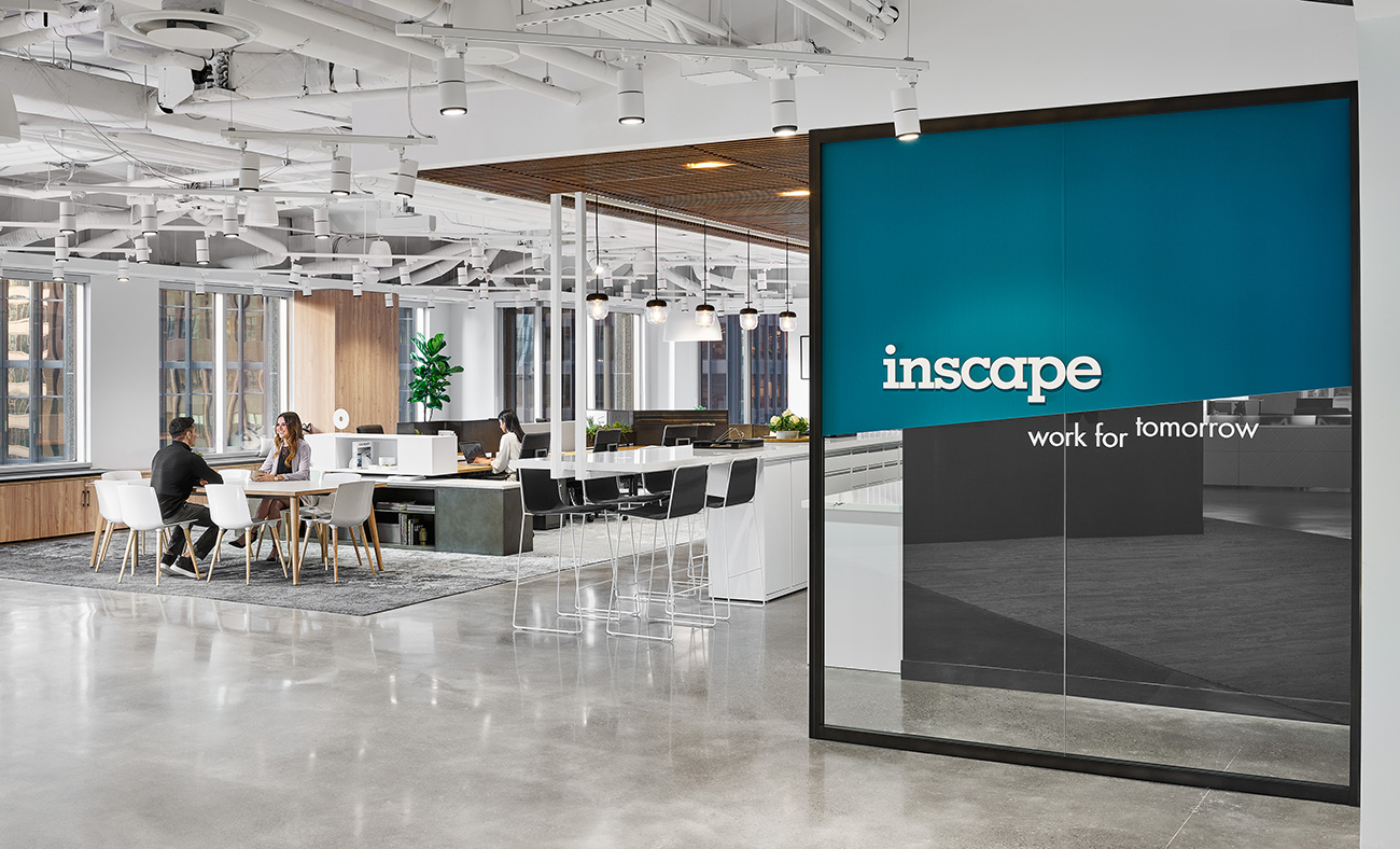 A Look Inside Inscape's Modern Toronto Office & Showroom