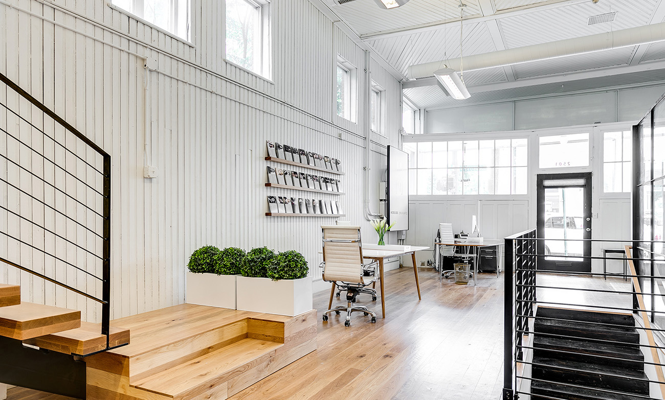 A Peek Inside Modelogic's Elegant Richmond Office