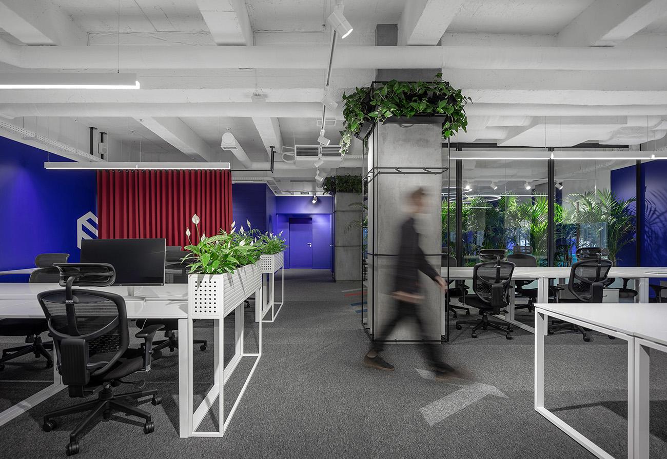 A Tour of SocialTech's Biophilic Kiev Office