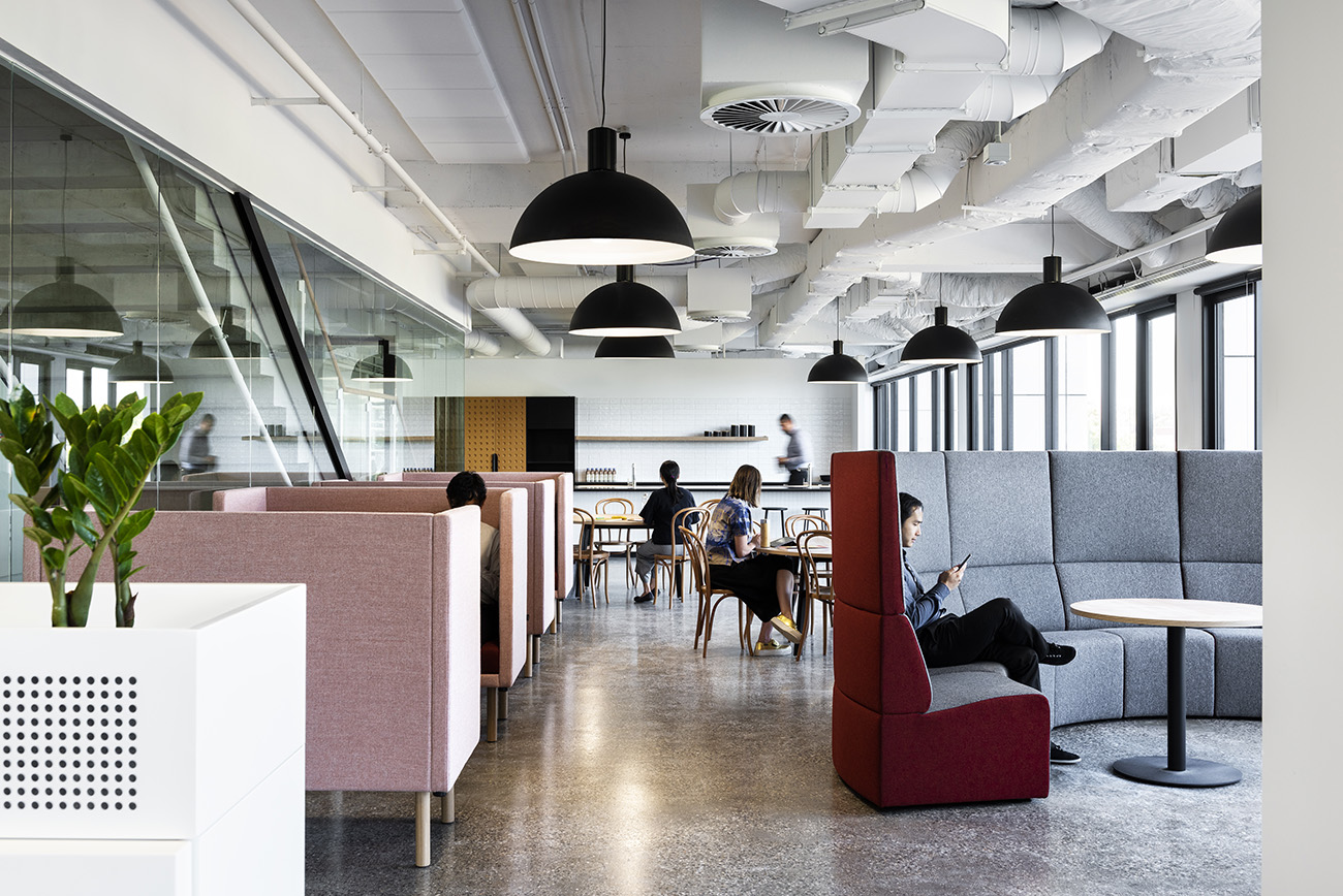 A Tour of 7-Eleven's Open-Plan HQ in Richmond