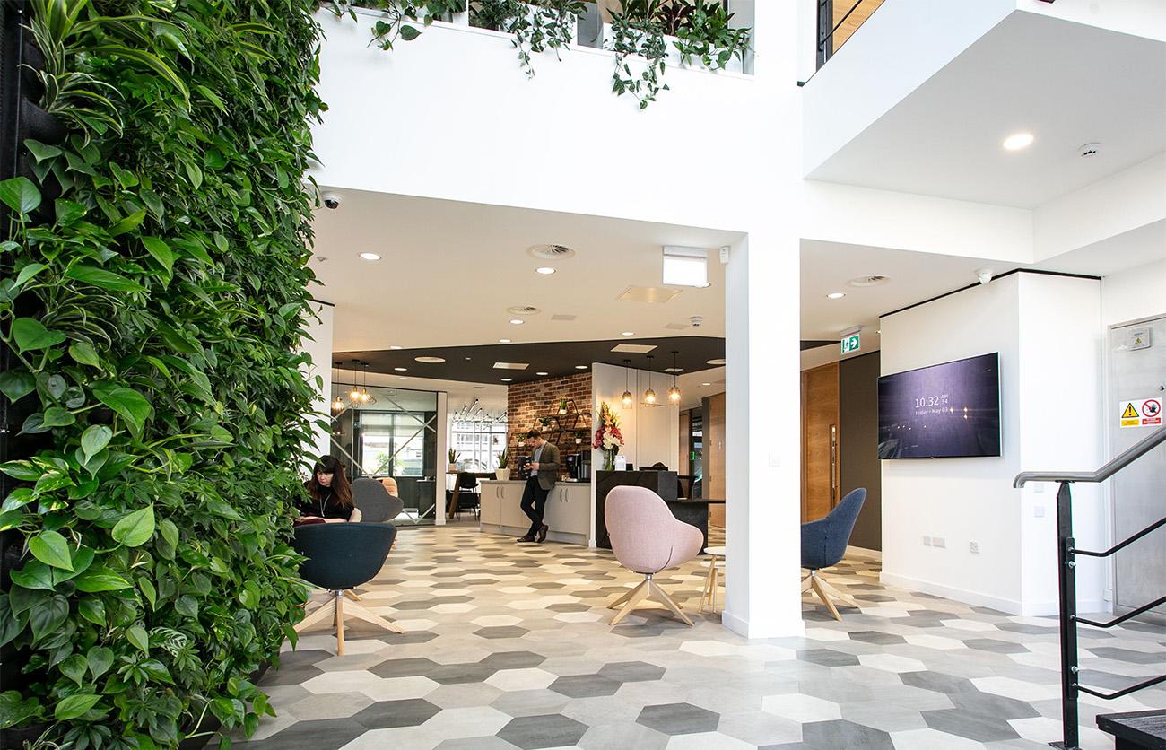 A Peek Inside Alliance Homes' Biophilic Office in Portishead