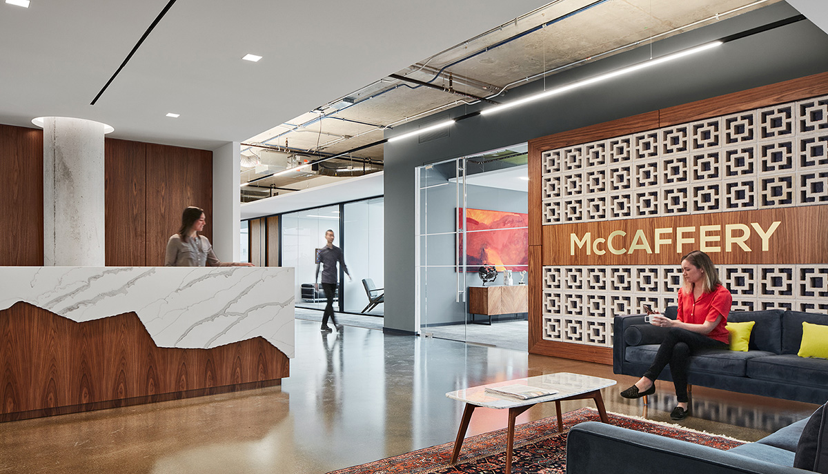 A Look Inside McCaffery Interests' New Chicago Office
