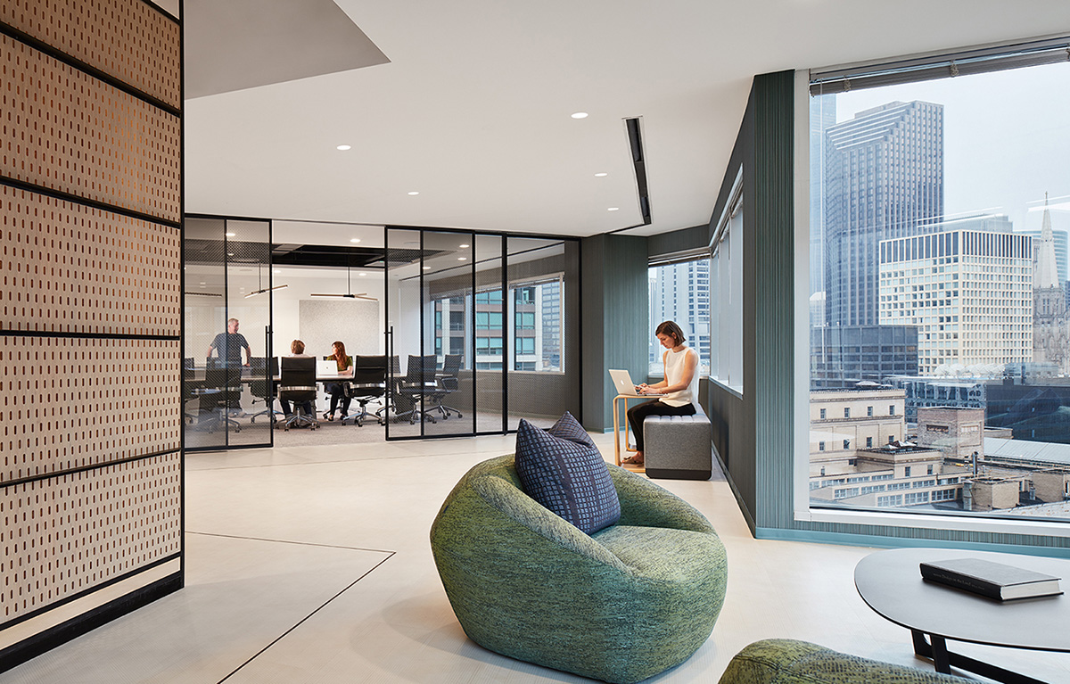 A Tour of Newcastle Limited's Elegant Chicago Office