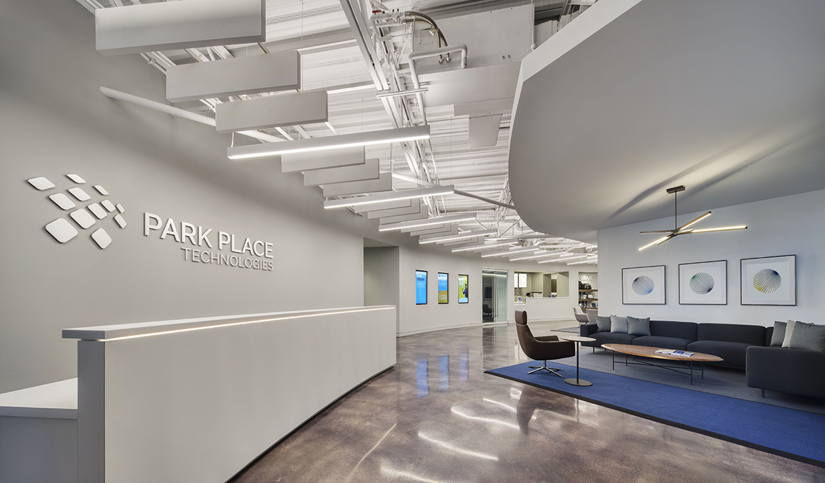 Inside Park Place Technologies' Minimalist Headquarters in Cleveland