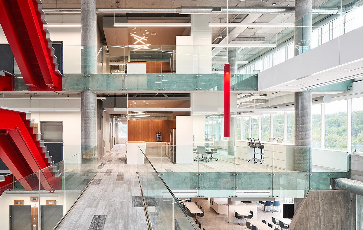 Inside Tomlinson Group's Contemporary Ottawa HQ