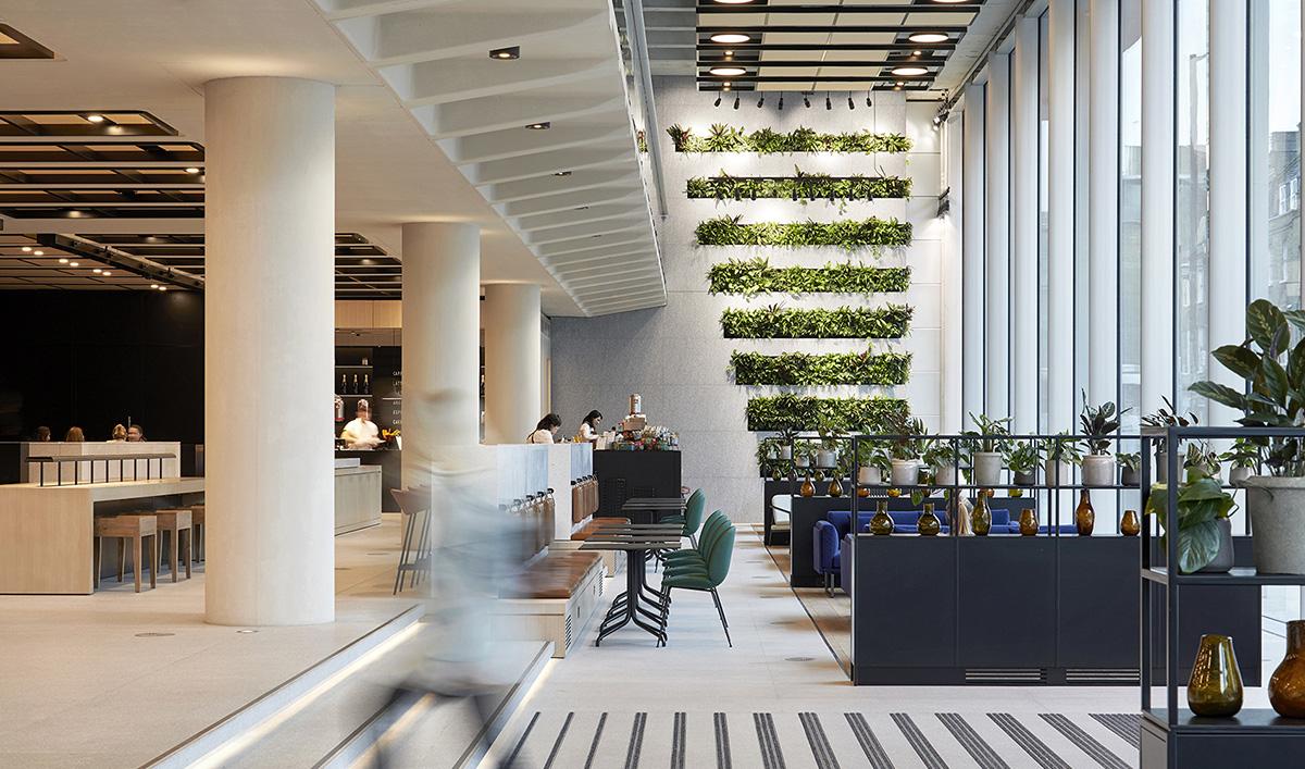 A Look Inside 200 Gray's Inn Road Office Building in London