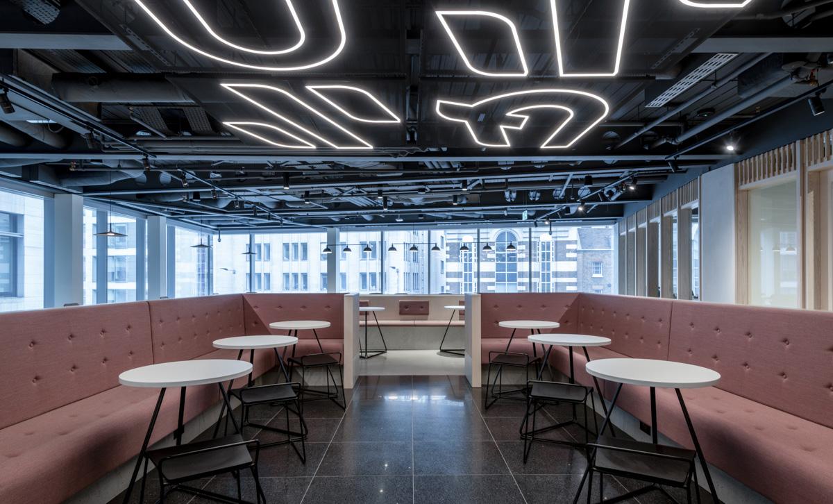 A Peek Inside HubHub's London Coworking Space