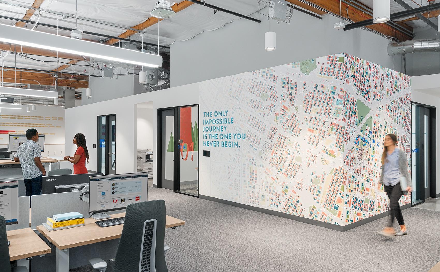 A Tour of LinkedIn's New Sunnyvale Office – 575 Building