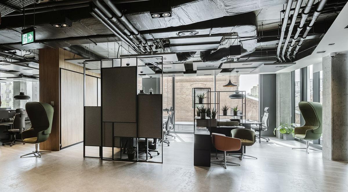 A Look Inside Stalgast's New Warsaw Office