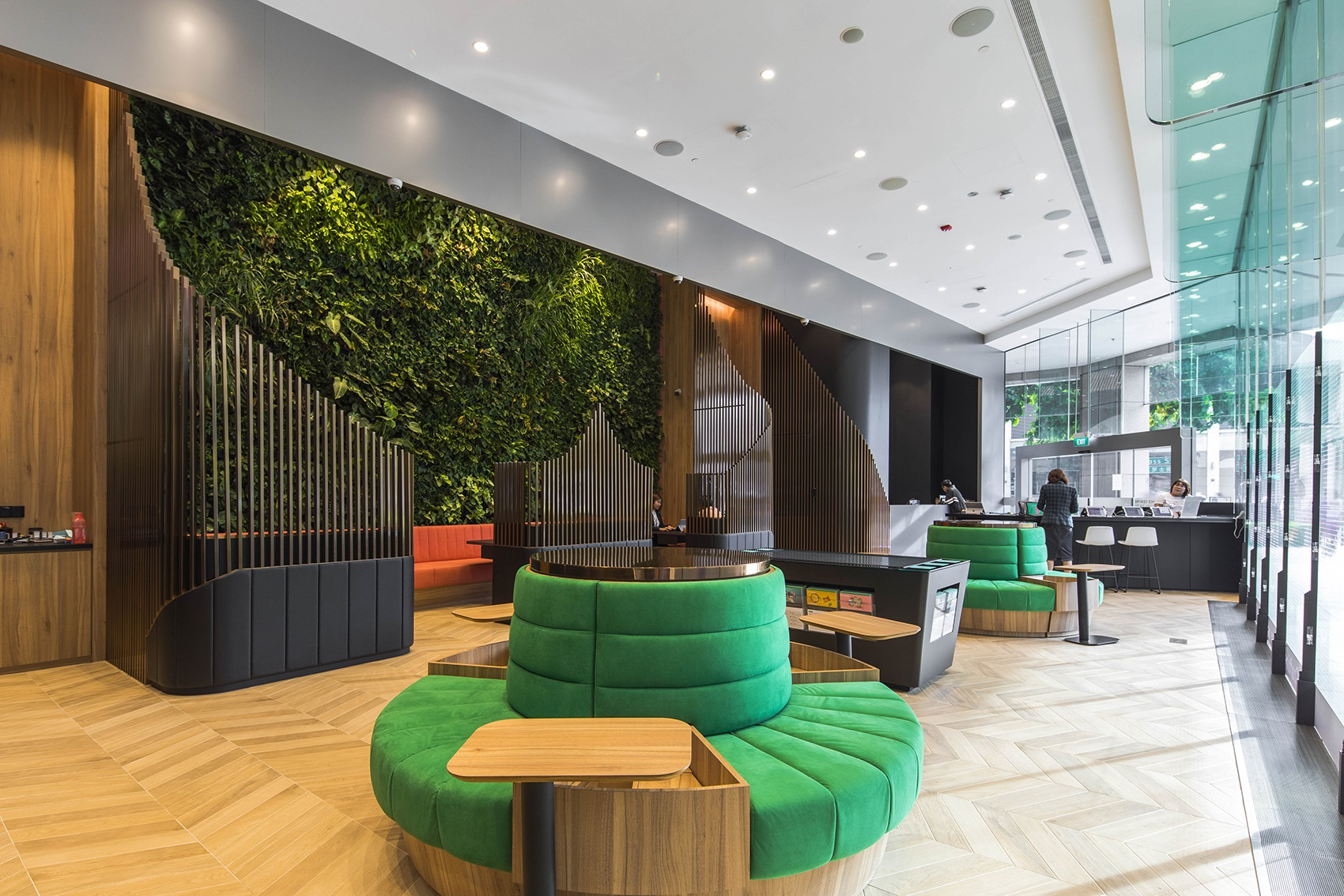 A Look Inside Manulife's New Singapore Office