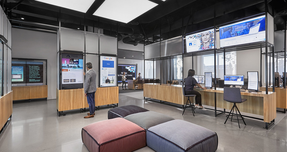 Inside The New Offices of NetApp in Sunnyvale
