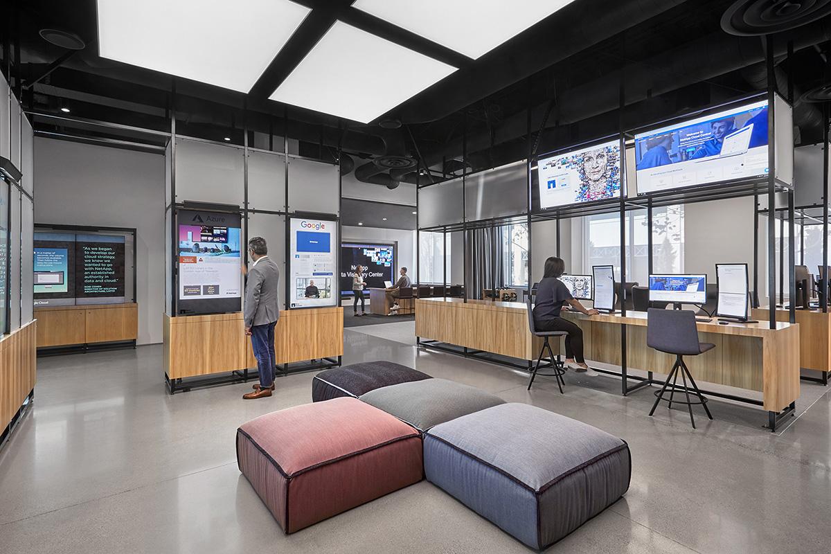 Inside The New Offices of NetApp in Sunnyvale