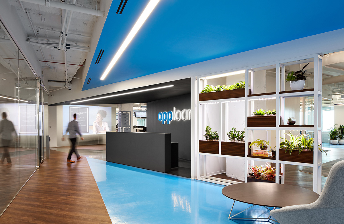 A Look Inside OppLoans' Modern Office Expansion in Chicago