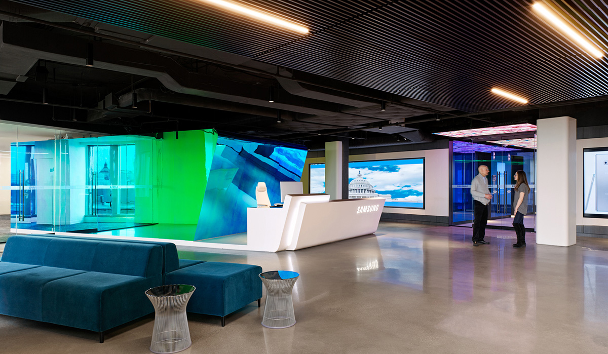 A Tour of Samsung's Office & Solutions Center in Washington D.C.