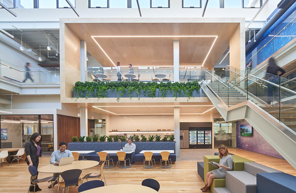 A Tour of VMWare's New Palo Alto HQ