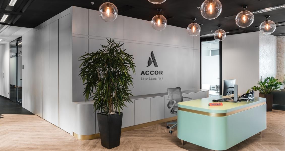 A Look Inside Accor & Orbis' Modern Warsaw Office