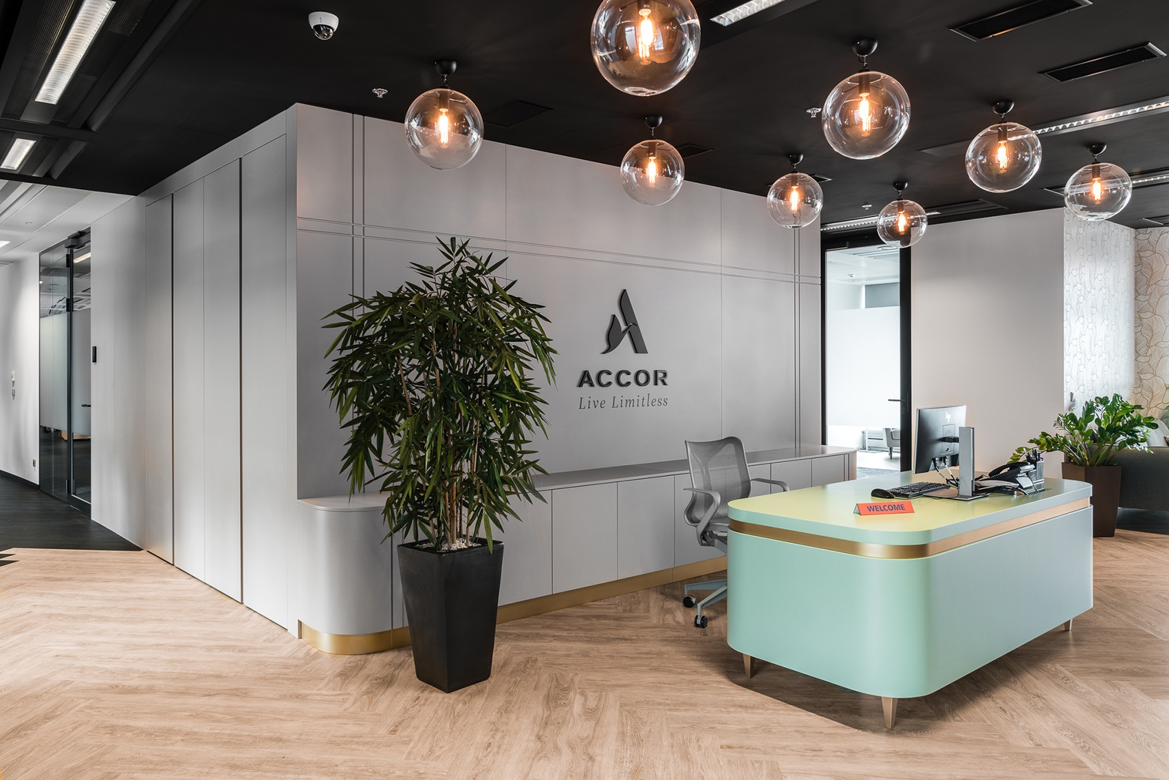 A Look Inside Accor & Orbis' Modern Warsaw Office