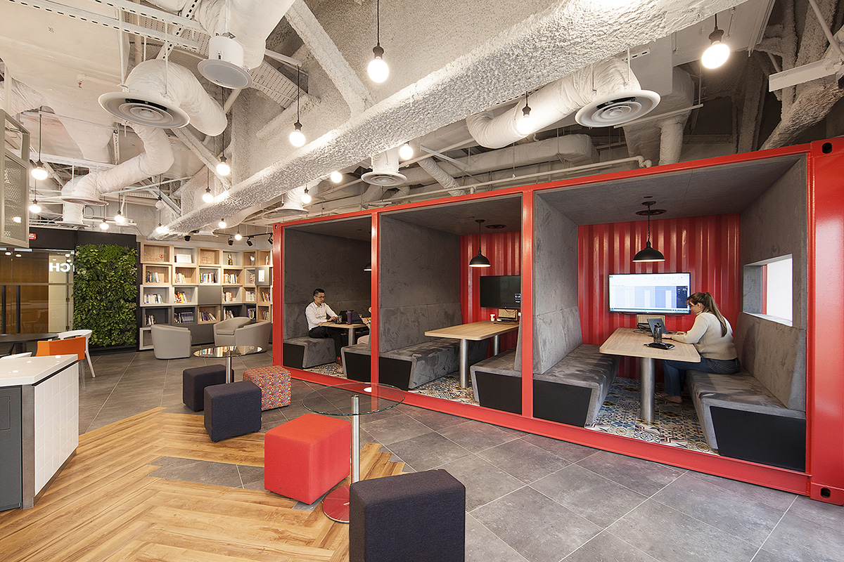 A Look Inside AXA's Cool New Singapore Office