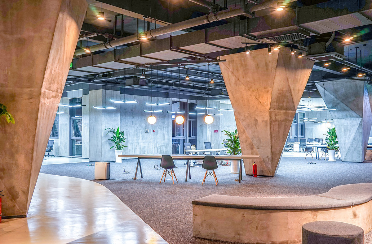 A Tour of Byton's Cool New Office in Nanjing