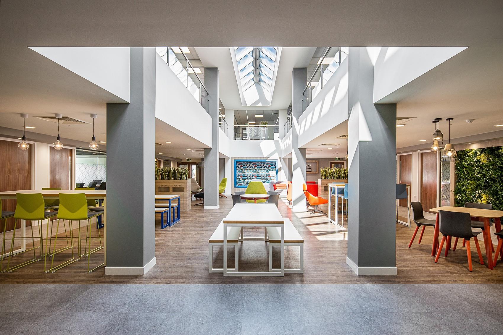 A Tour of Caunton's Modern Nottingham Office