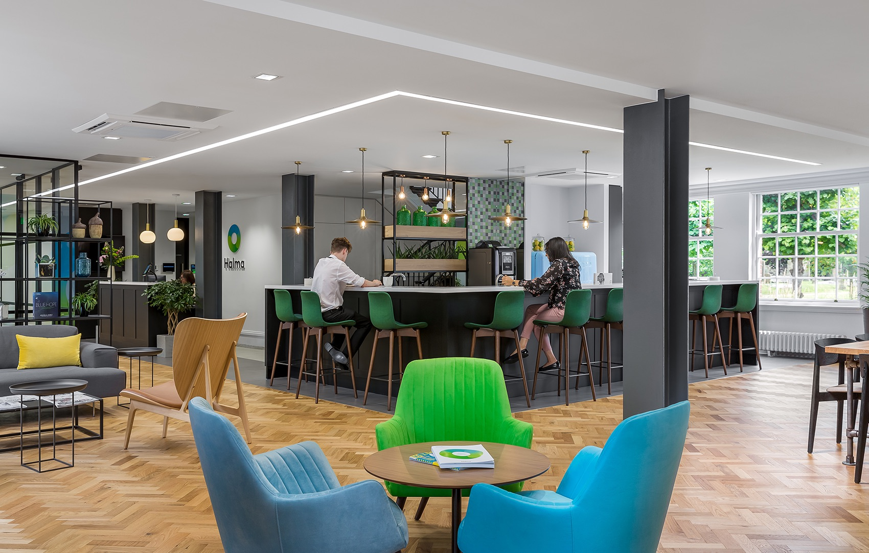 A Look Inside Halma's New Amersham Office